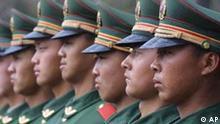 Chinesische Polizisten