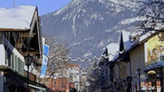 Garmisch-Partenkirchen during the winter