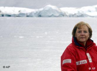 Die Klimakanzlerin auf Grönland 2007