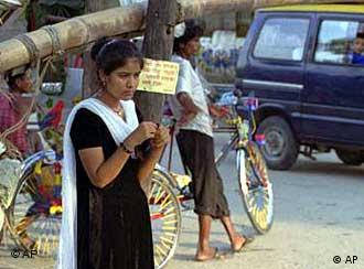 سن فحشا در هند بسیار پایین است