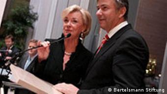 Bertelsmann Liz Mohn + Klaus Wowereit