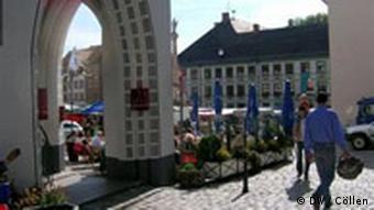 Marienplatz jest ulubionym miescem spotkań