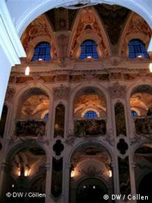Barokowy wystrój Katedry jest arcydziełem braci Asam