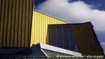 Exterior view of the Philharmonie (Photo: picture alliance)