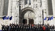 Portugal EU Vertrag von Lissabon Gruppenfoto