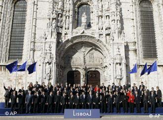 Foto de familia de los jefes de Estado y de Gobierno de la UE.