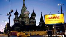 Deutsche Post setzt auf wachsendes Geschäft in Russland