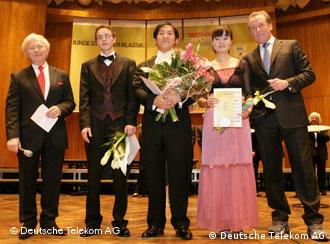 The winners of the Beethoven Competition for Piano 2007