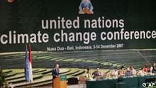 UN-Klimaschutzkonferenz auf Bali