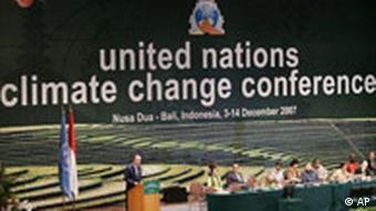 UN Secretary General Ban Ki-moon addresses high level delegates to the U.N. Climate Change Conference