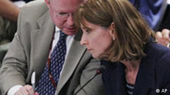 Head of the US delegation Undersecretary of State Paula Dobriansky