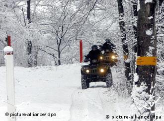 Fronteira entre Letônia e Belarus continará sendo patrulhada
