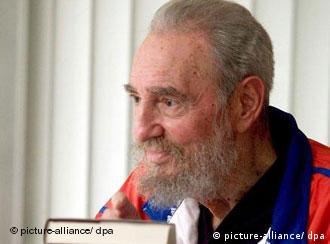 Fidel Castro im September, Quelle: AP