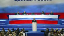 Russland Präsident Wladimir Putin spricht in Moskau