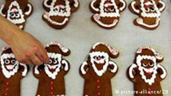 Deutschland Weihnachten Gebäck Lebkuchen