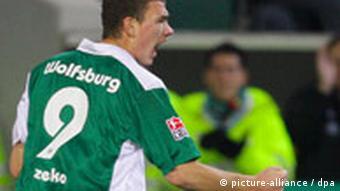 Džeko u dresu Wolfsburga