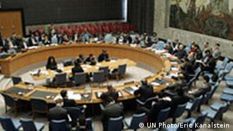 Security Council in session