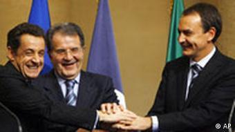 پیمان مدیترانه، پیمانی برای همکاری کشورهای حاشیه دریای مدیترانه و اتحادیه اروپا