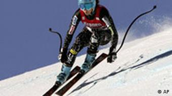 Julia Manucuso beim World Cup Women`s Downhill
