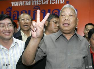 Wahlen in Thailand: Samak Sundaravej gibt sich siegessicher Partei der Volksmacht PPP
