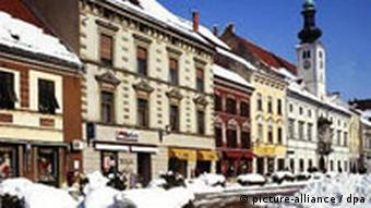Slowenien Maribor Winter