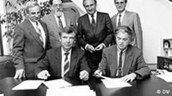 Vertrag Sowjet-Deligation
