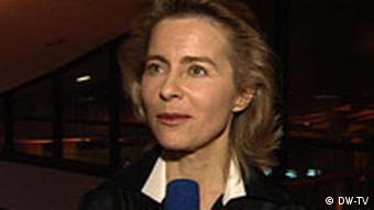 Министр по делам семьи, престарелых, женщин и молодежи Урсула фон дер Лайен
