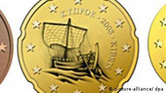 BdT Euro in Zypern, Münzen bei der Euroeinführung 2008