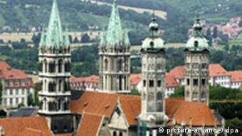 Deutschland Naumburg Dom Bewerbung als Weltkulturerbe