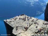 Prekestolen cliff in Stavanger