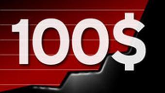 Grafik Ölpreis Einhundert Dollar Rekordmarke