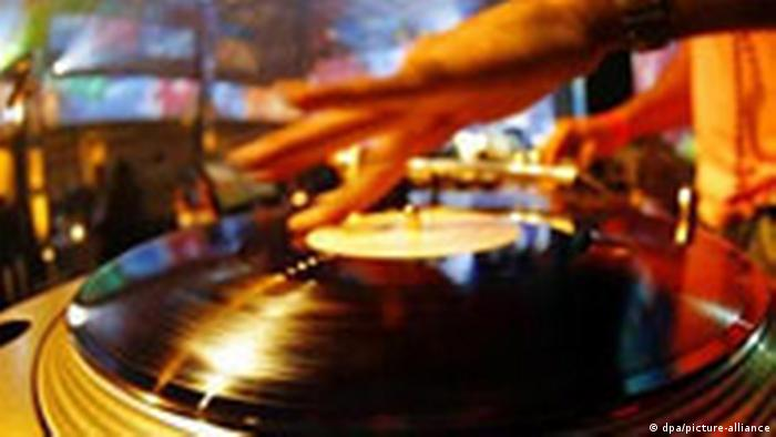 Plattenteller DJ Noisy Academy