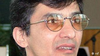 رضا معینی، مسئول بخش ایران سازمان گزارشگران بدون مرز