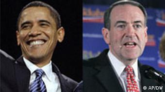 Bildcombo Obama Huckabee