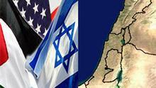 Symbolbild USA Israel Palästina Naher Osten