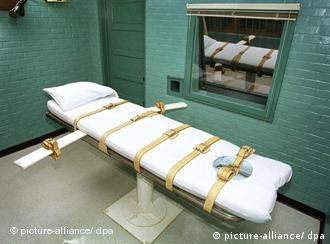Hinrichtungskammer in den USA (Foto: dpa)