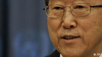 UN-Generalsekretär Ban Ki Moon Vereinten Nationen