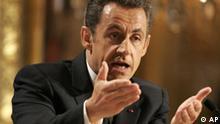 Neujahrsantrittsrede von Sarkozy