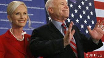 John McCain Vorwahl USA New Hampshire
