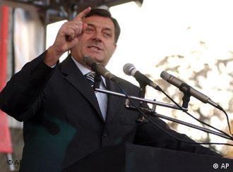 Wettert gegen die NGO: Milorad Dodik, Premier der bosnischen Serbenrepublik