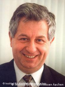 Portrait Prof. Henning Wallentowitz, head of the IKA Instite for Automotive Engineering in Aachen, Germany