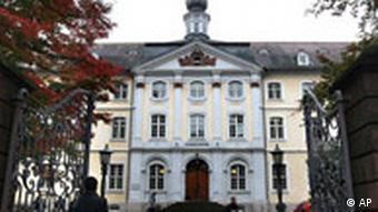 Verwaltunggebäude der Ruprecht-Karls Universität in Heidelberg