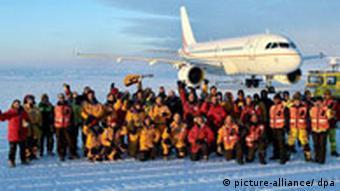 Ανταρκτική, αεροπλάνο