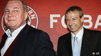 Uli Hoeness and Klinsmann