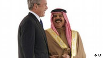 Bush in Bahrain