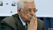 Palästinenster Präsident Mahmoud Abbas in Ramallah