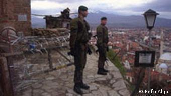 German peacekeepers in Kosovo