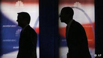 USA Wahlen Demokraten John Edwards und Barack Obama in Las Vegas