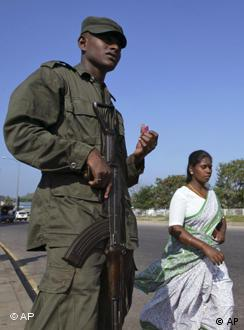 The Sri Lankan president has said the army's achievements fighting militants were unprecedented