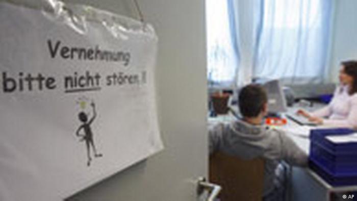 Vernehmung im Haus des Jugendrechts